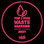top five waist worrier award
